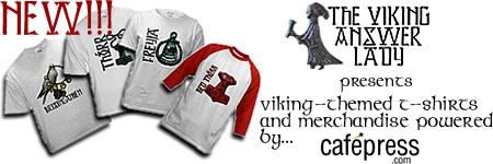 Purchase your Viking Answer Lady T-Shirts and Merchandise Today!