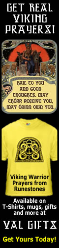 Real Viking Warrior Prayers! Available on T-shirts and gifts!