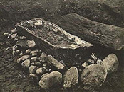 Egtved excavation photo.