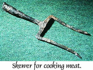 Viking Age meat skewer