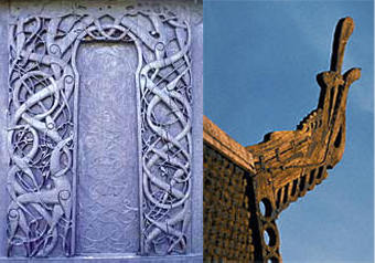 Stave Church Ornamentation Reveals Pagan Elements