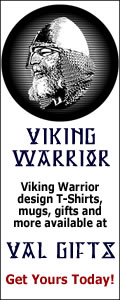 Get Viking warrior t-shirts and gifts here!