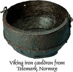 Viking Age cauldron